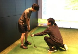 ライザップゴルフ  まっすぐ引いてまっすぐ出す